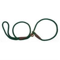 Mendota Products, Inc. Mendota Slip Dog Lead 4ft x 3/8in Hunter Green
