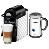 Nespresso Pixie Espresso Machine Bundle - Chrome