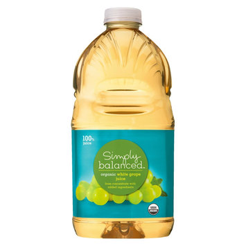 Simply Balanced White Grape Juice 64 oz