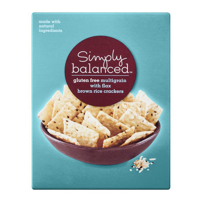 Simply Balanced Gluten Free Multi-grain with Flax Brown Rice Crackers
