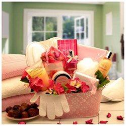 Gift Basket Heavenly Retreat Bath Body Rituals Gift Set- Medium- 8412632