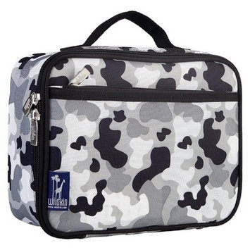 Wildkin Gray Camo Lunch Box Grey Camo - Wildkin Travel Coolers