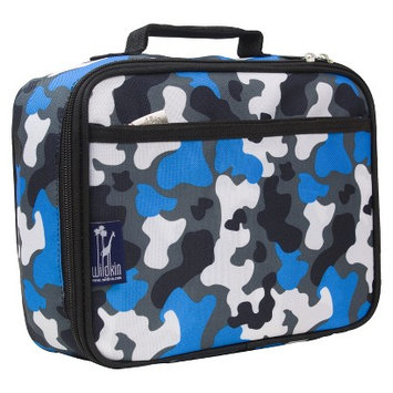 Wildkin Blue Camo Lunch Box - Blue Camo