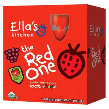 Ella's Kitchen Organic Smoothie The Red One 3 oz 4 pk