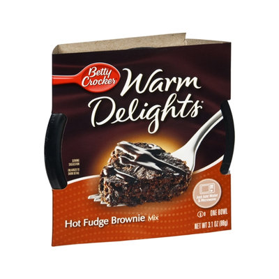 Betty Crocker Warm Delights Hot Fudge Brownie Mix