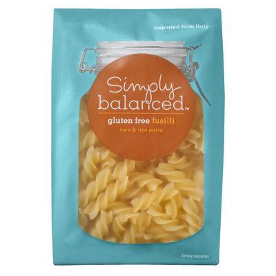 Simply Balanced Gluten Free Fusilli Pasta 12 oz