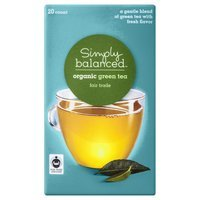 Harris Tea Company Simply Balanced Organic Green Tea 20 ct