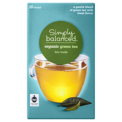 Harris Tea Company Simply Balanced Organic Green Tea 20 ct