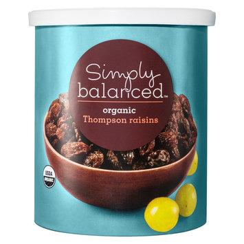 Simply Balanced Organic Thompson Raisin 12 oz