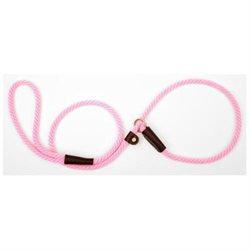 Mendota Small Slip Leash in Hot Pink