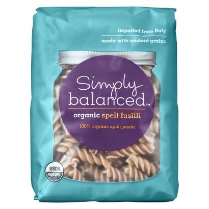 Simply Balanced Organic Spelt Fusilli Pasta 10oz