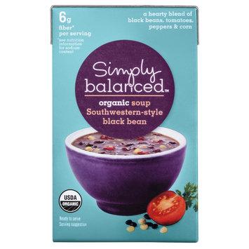 Simply Balanced Organic Southwestern - Style Black Bean Soup 17.3 oz