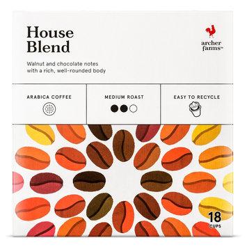 Mother Parkers Tea & Coffee Inc. Archer Farms House Blend Single Cup 18 ct