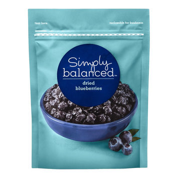 Simply Balanced Dried Blueberries 4 oz