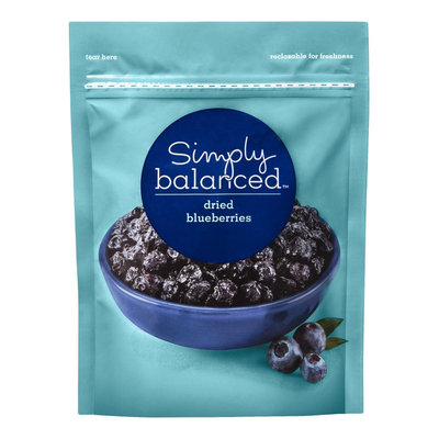 Simply Balanced Dried Blueberries 4 oz