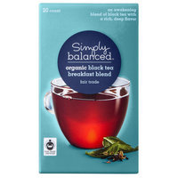 Simply Balanced Organic Breakfast Blend Black Tea 20 ct
