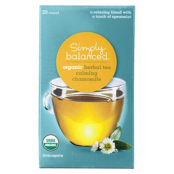 Simply Balanced Organic Calming Chamomile Herbal Tea 20 ct