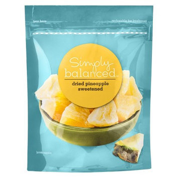 Simply Balanced Dried Pineapple Sweetened 6oz