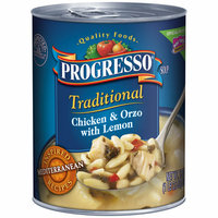 Progresso Traditional Chicken & Orzo with Lemon Soup