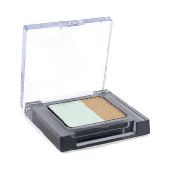 Ipsa Eye Color Contrast - #A11 (Mist Emerald & Golden Bronze) 1.8g/0.06oz