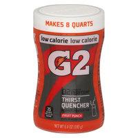 Gatorade G2 Fruit Punch Sports Drink Mix 6.4 oz
