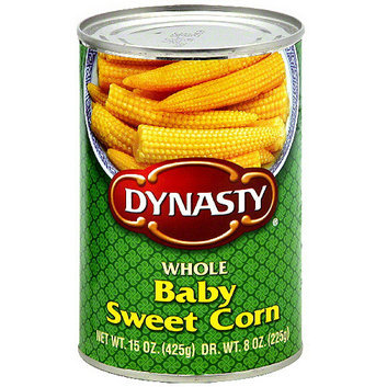 Dynasty Whole Baby Sweet Corn