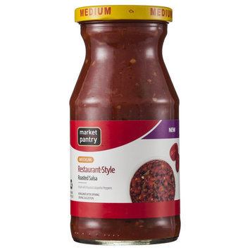 Market Pantry Roasted Restaurant Style Asado Salsa 16 oz