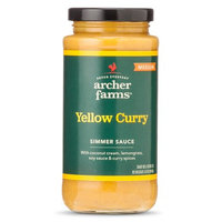 Archer Farms Medium Yellow Curry Simmer Sauce 11.8 oz