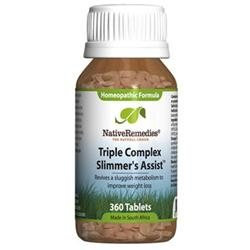 Native Remedies Triple Complex Slimmer's Assist for Weight Management (360 Tablets)