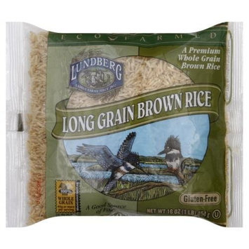 Lundberg Long Grain Brown Rice, 1-pounds (Pack of12)