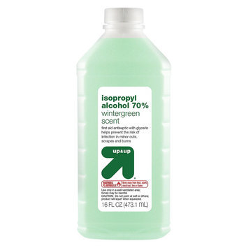 up & up Isopropyl Alcohol Wintergreen scent First Aid Antiseptic - 16 oz