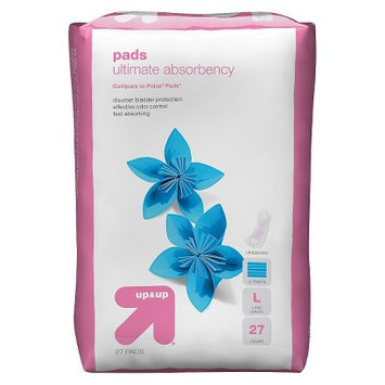 up & up Pads Ultimate Absorbency Long Length 27-pk.