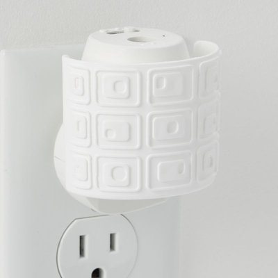 Yankee Candle simply home Geometric Scent-Plug Electric Home Fragrancer (White)