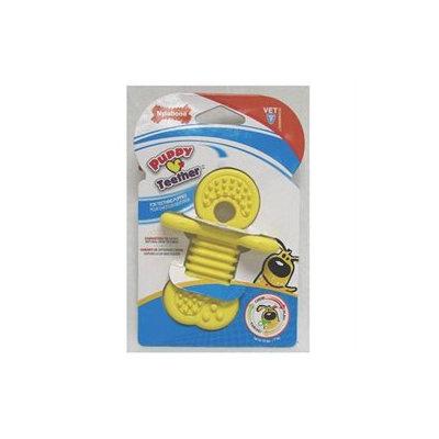 Nylabone Puppy Rhino Teethers Chew Toy - Yellow - Small