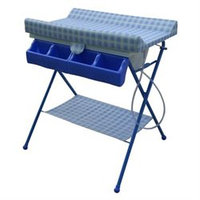 Baby Diego BB020-1 BabySpa Foldable Bathtub and Changer Combo - Blue