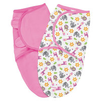 Summer Infant SwaddleMe 2 Pack - Sunny Safari (Small)