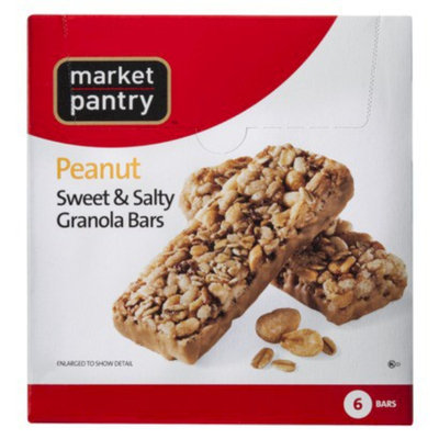 Market Pantry Sweet & Salty Peanut Chewy Granola Bars