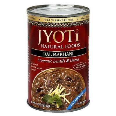 Jyoti Natural Foods Dal Makhani, Aromatic Lentils and Beans, 425 gram Cans, (Pack of 12)