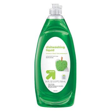 up & up Liquid Dishwashing Soap - Green Apple Scent - 24 oz