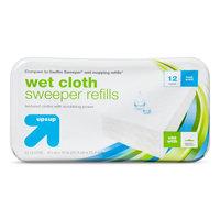 up & up Wet Floor Wipes - 12 ct