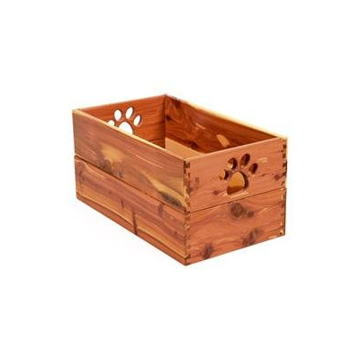 Dynamic Accents Ltd Dynamic Accents Pet Toy Box in Cedar