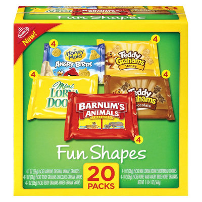 Nabisco Wholesome Munchpack 20 Count