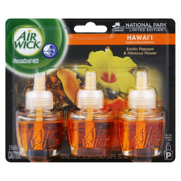 Airwick Air Wick Exotic Papaya & Hibiscus Flower Scented Oil Refills Nation