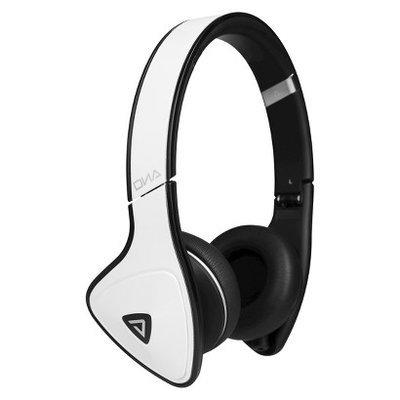 Monster Cable MH-DNA-ON-WHB DNA On-Ear Headphones - White Tuxedo