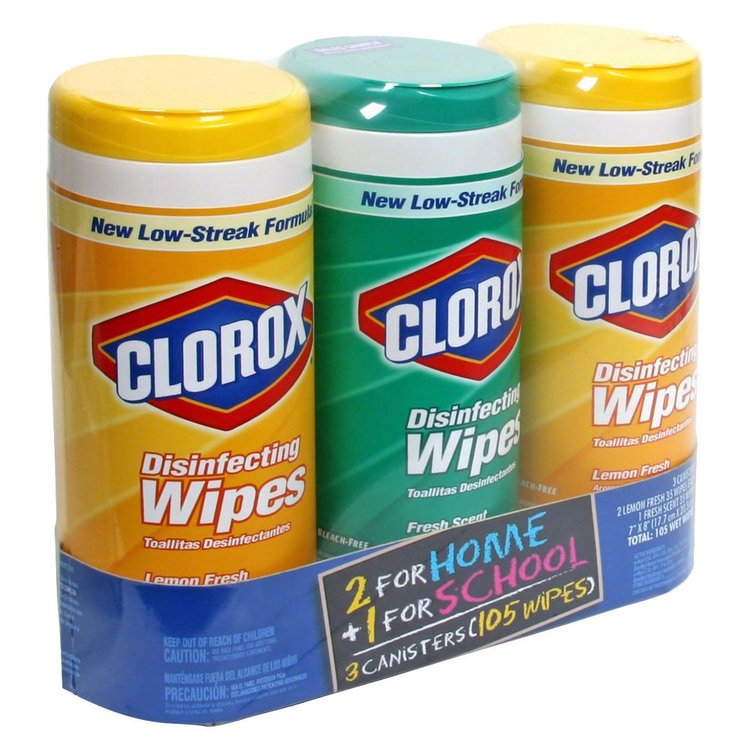 Clorox Disinfecting Wipes Combo Pack 35 ct each