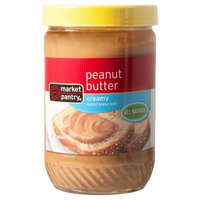 Market Pantry Natural Creamy Peanut Butter 16 oz