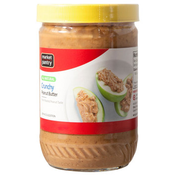 Market Pantry Natural Crunchy Peanut Butter 16 oz