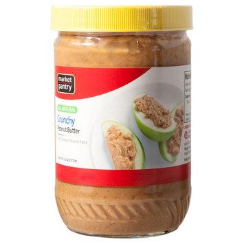Market Pantry Natural Crunchy Peanut Butter 16 oz