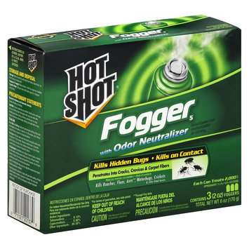 Insect Killer: Hot Shot Fogger with Odor Neutralizer 3 ct 6 oz each