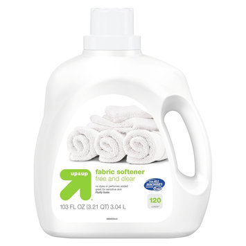up & up Free and Clear Fabric Softener 103 oz